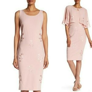 SL Fashions Embroidered Dress